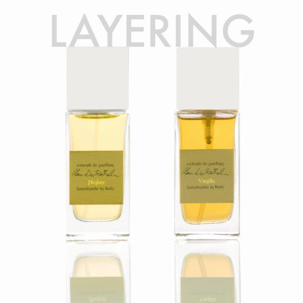Layering Amber & Vanilla Claudia Scattolini